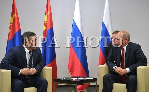 Монгол, Оросын ерөнхийлөгч нар Жүдогийн ДАШТ-ий үеэр анх удаа уулзлаа
