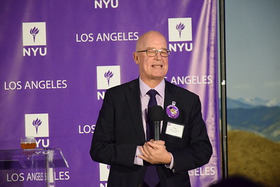NYU reception at Los Angeles Museum of Natural History