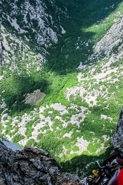Long way down, Mosaraski, Paklenica