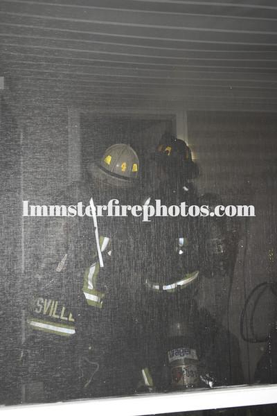 HICKSVILLE 1st  ST HOUSE FIRE 6-21-16