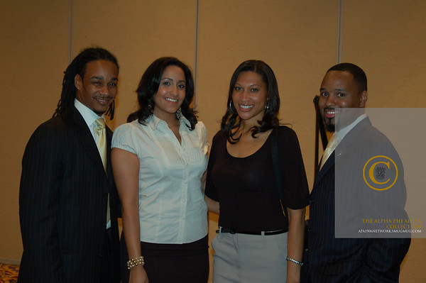 2007 Congressional Black Caucus Alpha Reception