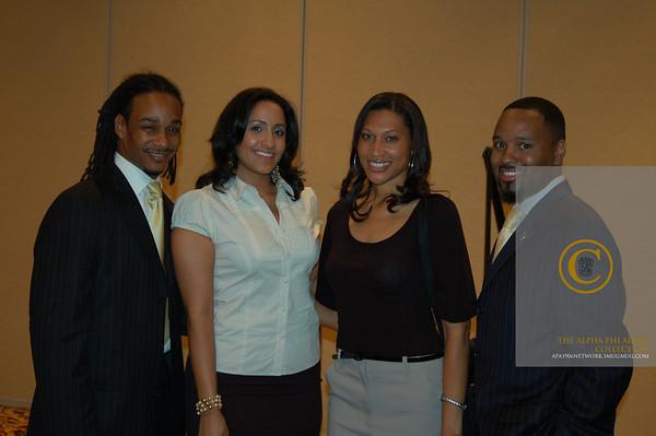 2007 Congressional Black Caucus Alpha Reception