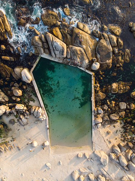 Maidens Cove tidal pool, Camps Bay 2020