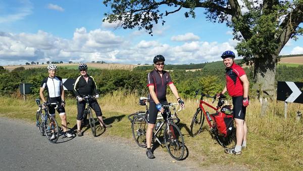 Club Cycle Meet, Four Abbeys, Borders (19 Sept 2015)