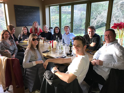Lunch with Friends at The Forge 11/17