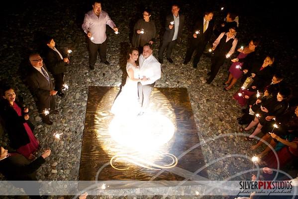 Fire Pit: Tony + Lauren