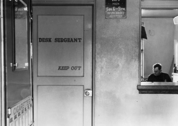 Desk Sergeant's Office