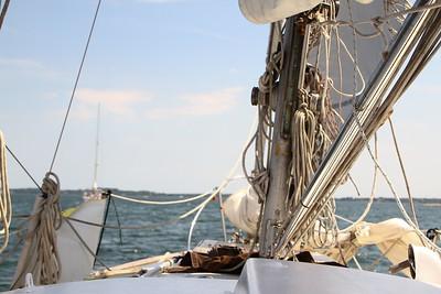 Sailing in Mystic CT