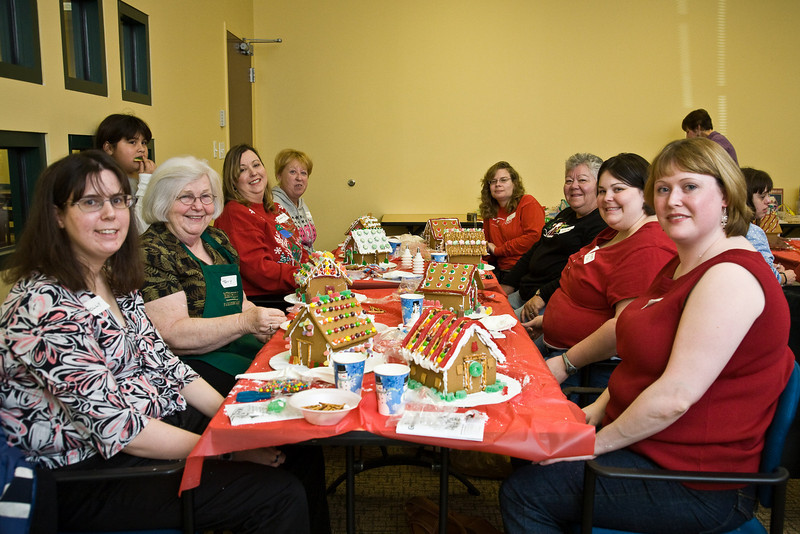 Seated at the table from camera left to right:  Molly Deger, Terry Bocarth, Kim Smith, Kathleen Lacher, Kelly Mason, Nell Baker, Sara Beth Price, Elizabeth Sweeney.