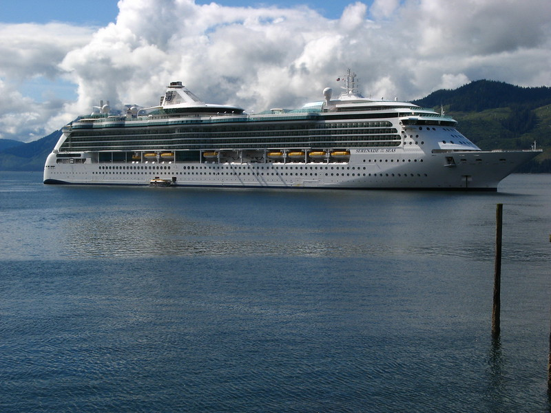 Our ship - The Serenade of the Seas