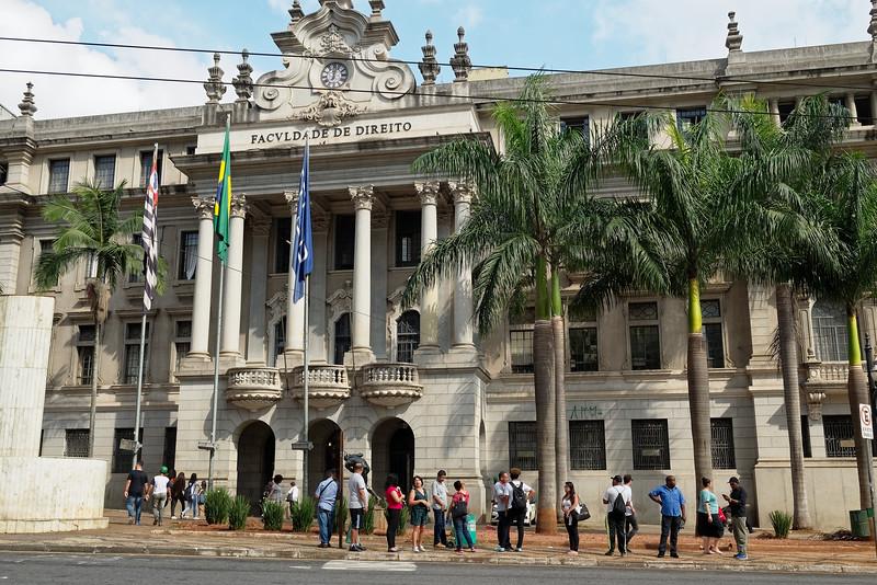 Faculté de droit de l'université de São Paulo
