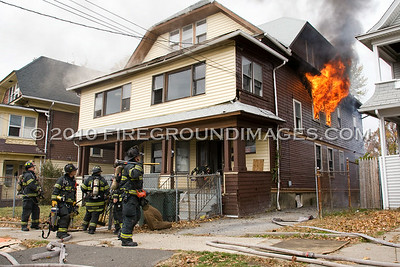 North Ave. Fire (Bridgeport, CT) 11/10/10