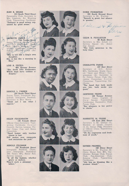 Mom - HS Yearbook