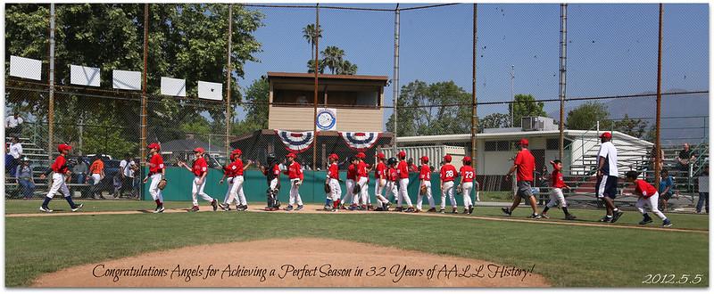 20120505 AALL Minors Angels vs. Rangers