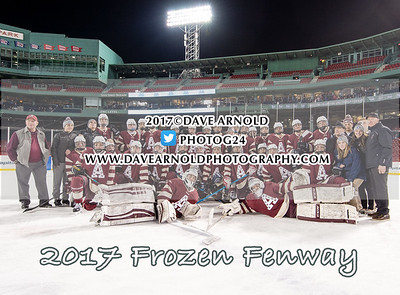 1/11/2017 - Boys Varsity Hockey - Frozen Fenway - Burlington vs Arlington