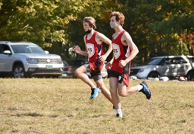 LTS Varsity X-C at BBA photos by Gary Baker