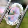 2.32ct Flat Oval Shape Diamond GIA J SI1 5
