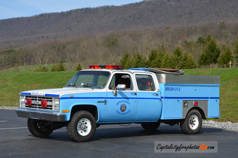 Mifflin County Forest Firefighters Brush 21-2: 1985 Chevrolet PP/200