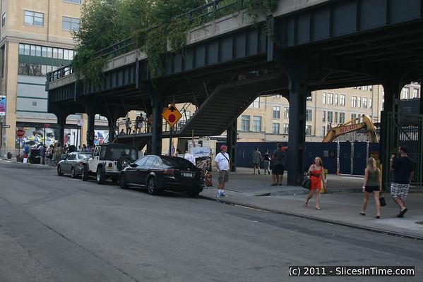 The High Line Park  - August 2011
