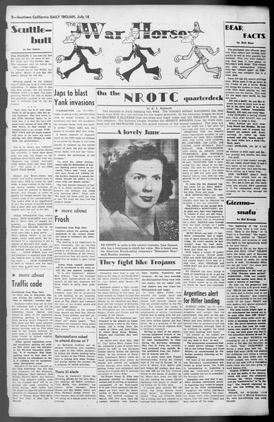 Daily Trojan, Vol. 36, No. 159, July 18, 1945