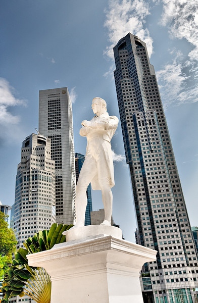 Singapore - Raffles Statue