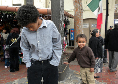 Boys @ Olivera Street - Jan. 2010