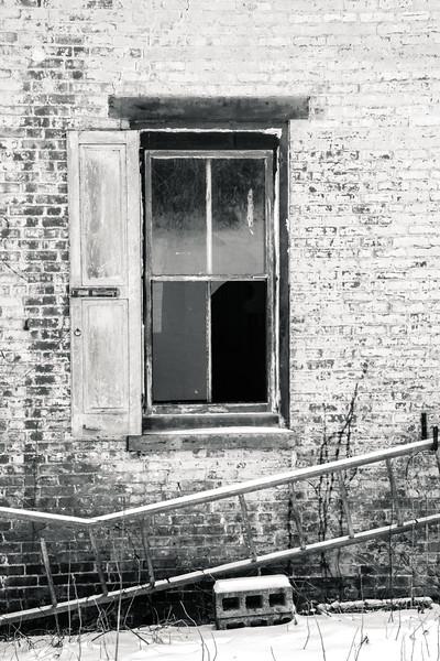 Window Abandoned Farmhouse