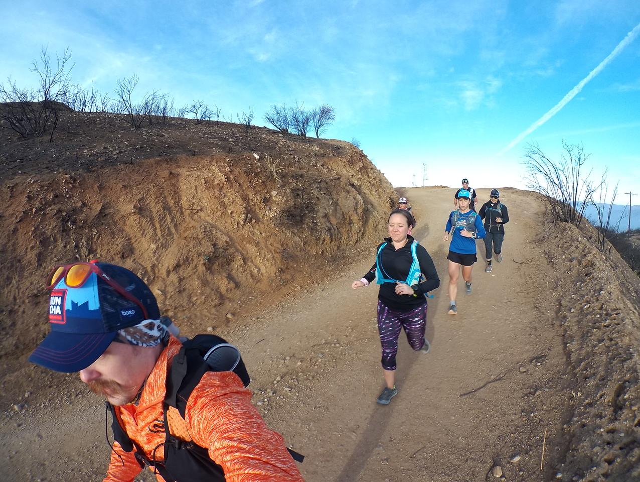 New Year Run Across the Verdugo's 2018