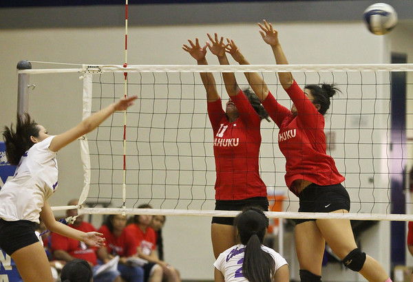 Moanalua Girls VB playoffs 2011