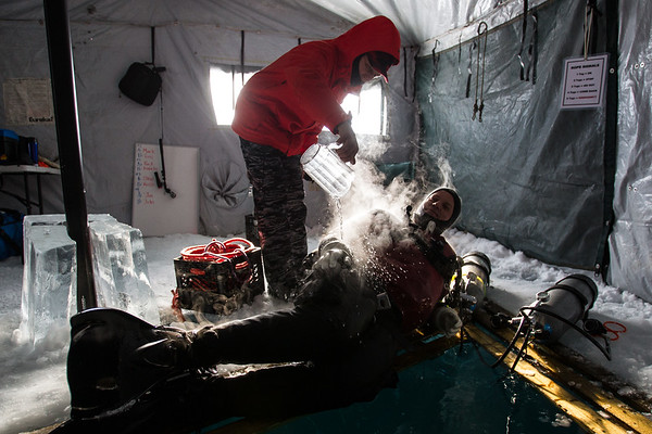 Ice Diving Canada