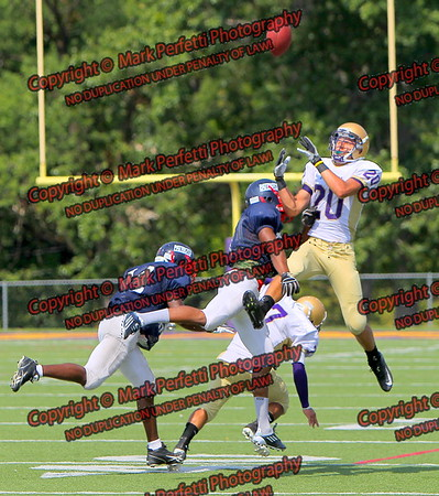 Rams vs Schenectady (scrimmage) 8-25-2012