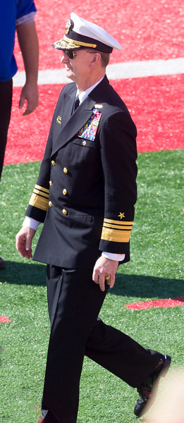 """Vice Admiral Walter E. """"Ted"""" Carter,  Annapolis Superintendent"""