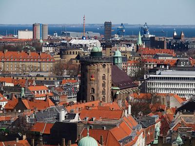 Copenhagen aerial panorama