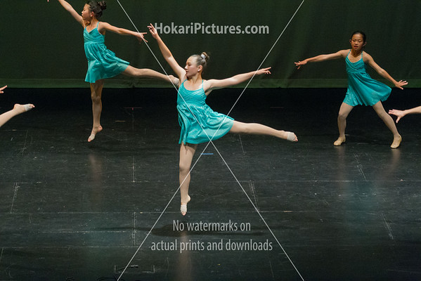 17. Stage 2 Ballet and Lyrical Class