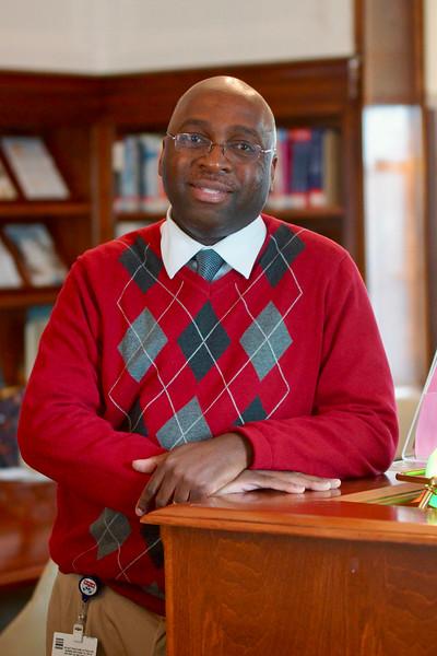 John Mokonyama - CCH Librarian