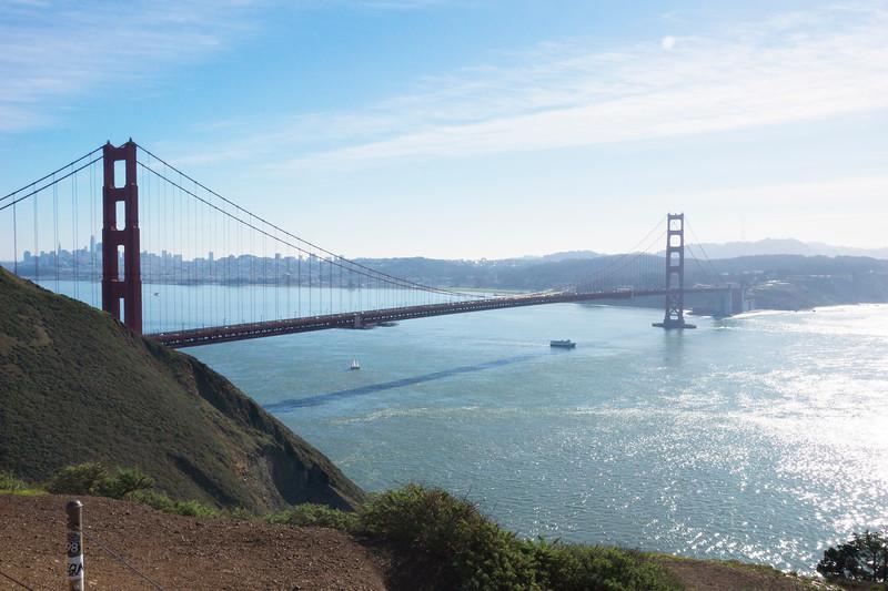 Golden Gate Bridge in Can Francisco