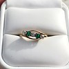 .45ctw Victorian 5 Stone OEC and Emerald Band 11