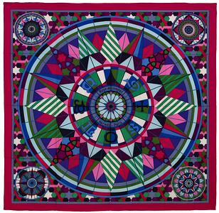 Rose de Compas - CS140 - Fuchsia Green Purple - NWCTS - 1611201846