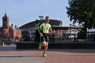 Cardiff Triathlon - Olympic Run 1