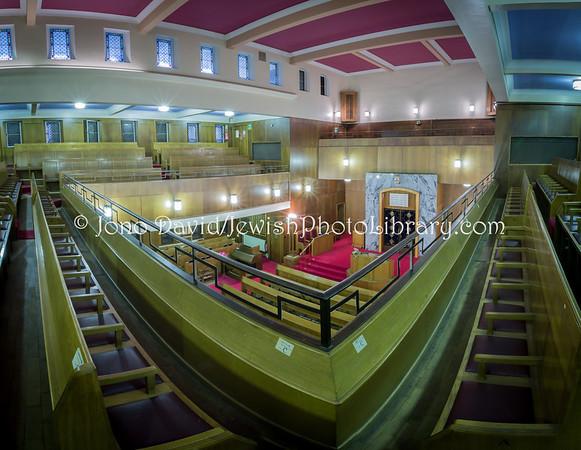 ENGLAND, Manchester. Manchester Reform Synagogue (1.2018)