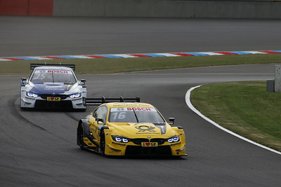 Photo Set - Safety car, a red flag and action all the way_ Glock and Eng finish on the podium for BMW at the Lausitzring.