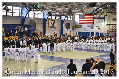 Cohen Memorial Judo Tournament 2015