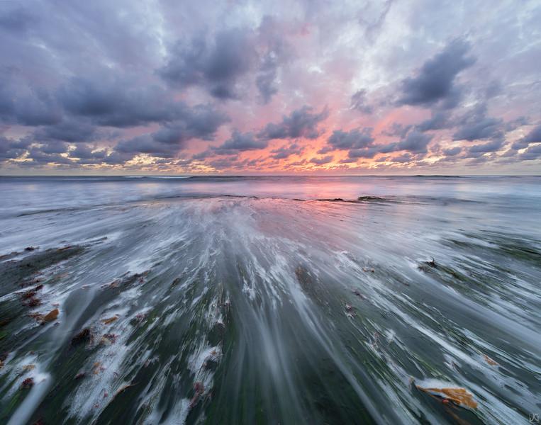 """Sea Grass Sunset"" by Jimmy Gekas"