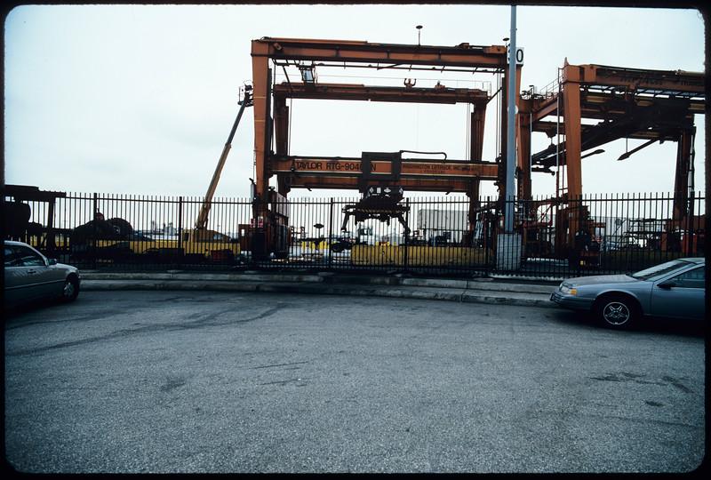 Intermodal facilities on Washington Boulevard, Commerce, 2004