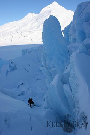 Portage Glacier Travel