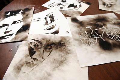 Megan Burns & 2-D Artwork