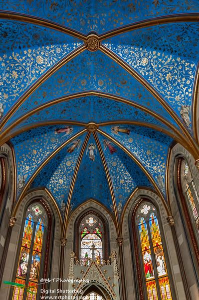 Christ Chapel  Burg Hohenzollern Germany