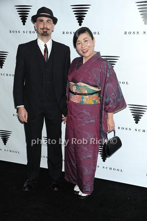 Joe Napolitano and  Mami Takada photo by Rob Rich/SocietyAllure.com © 2014 robwayne1@aol.com 516-676-3939