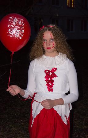 2019-11-02, Olya for Halloween