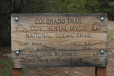 2012 White River National Forest: Mitchell Creek Loop Trail